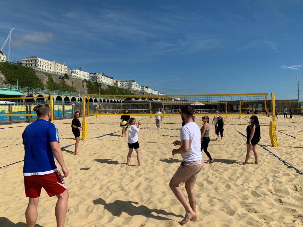 Volleyball at Yellowave Brighton