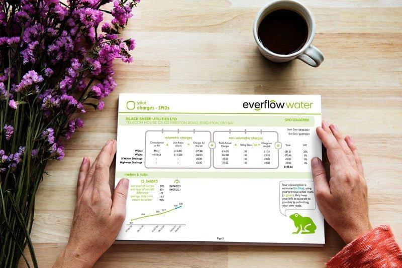 water recent bill - Black Sheep Utilities - Everflow
