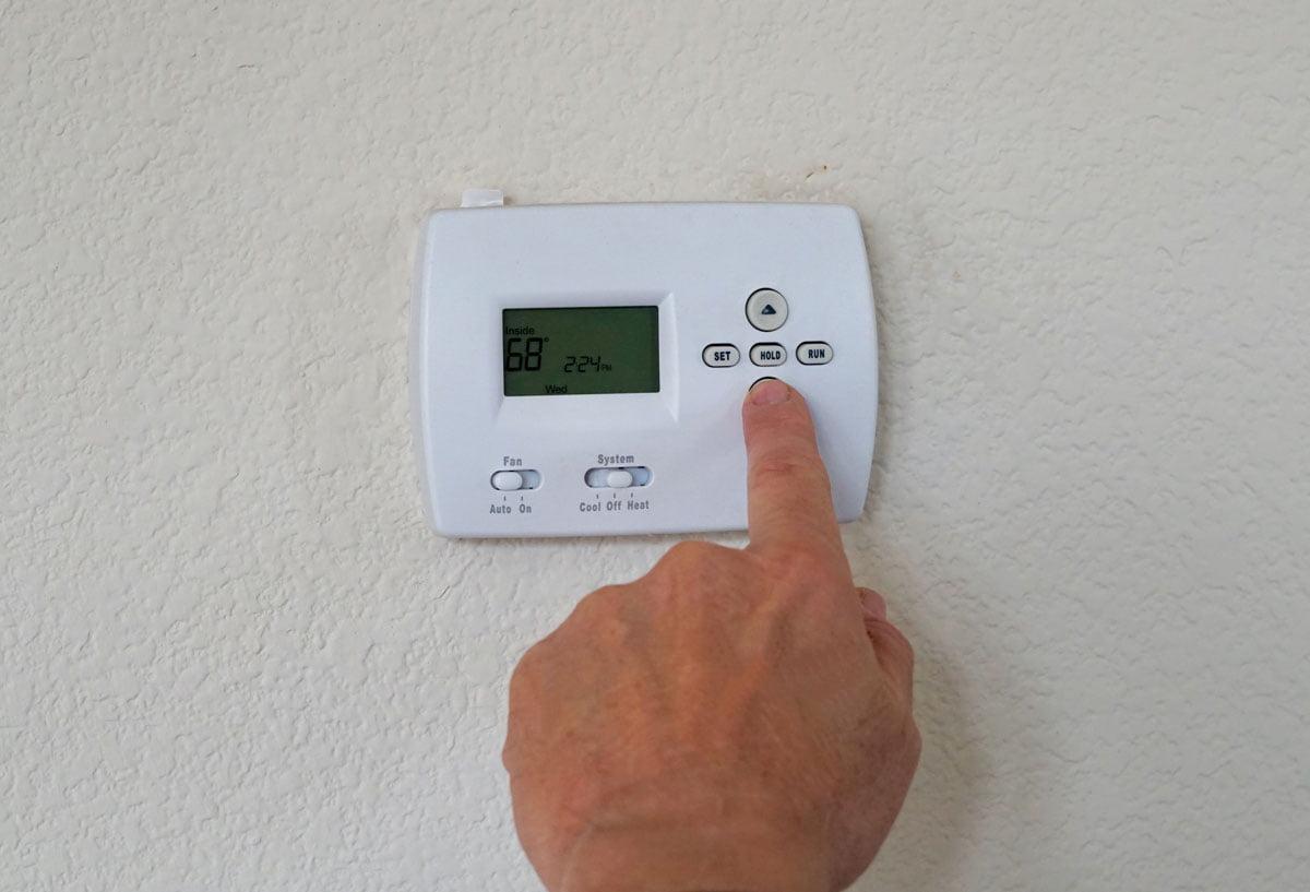 UK Energy Crisis Price Cap - Thermostat